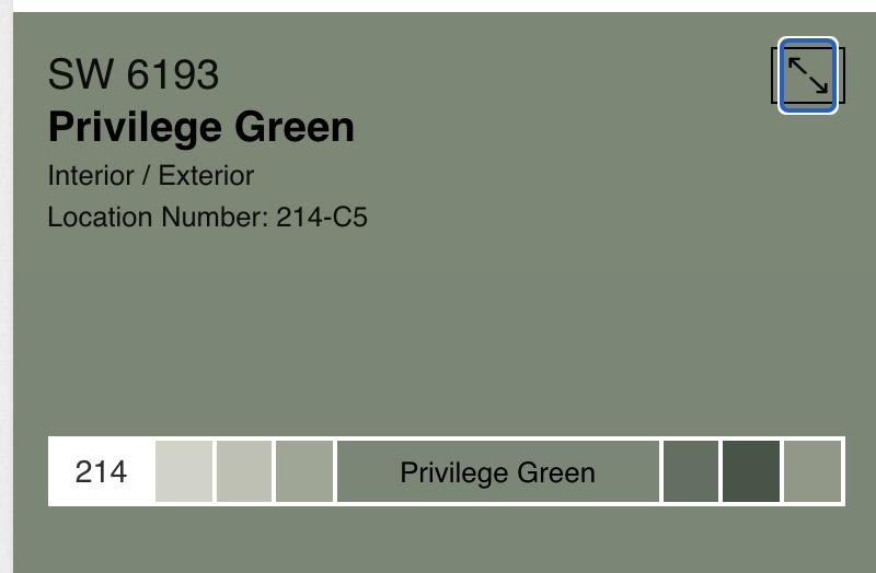 SW Privilege Green