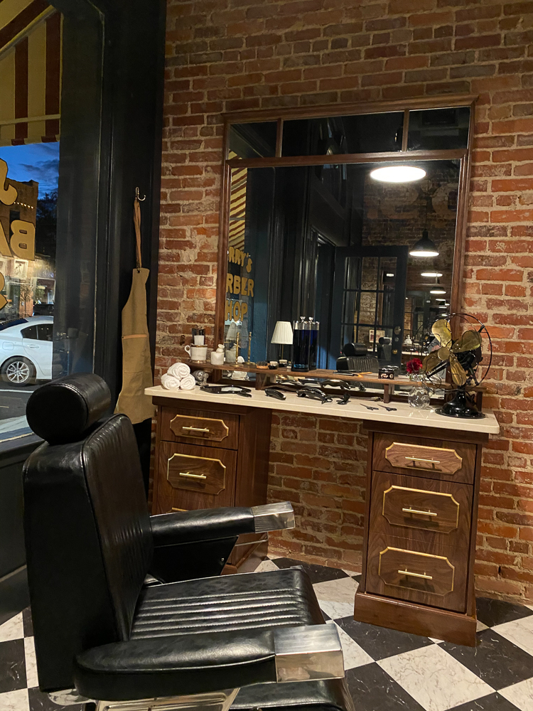 Barber Shop makeover on Home Town Takeover